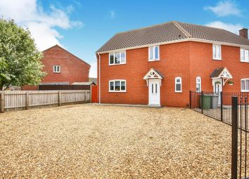 Thumbnail 3 bed semi-detached house for sale in Park Way, Hellesdon, Norwich