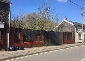 Thumbnail Commercial property for sale in 23-27 High Street, Ogmore Vale