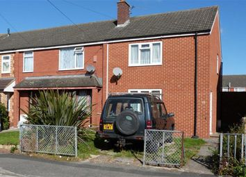 Thumbnail 2 bedroom end terrace house for sale in Axbridge Close, Swindon