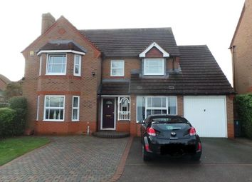 Thumbnail 4 bed detached house for sale in Shifrall Way, Sutton Coldfield