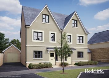Thumbnail 3 bed semi-detached house for sale in Pickwick Park, Park Lane, Corsham