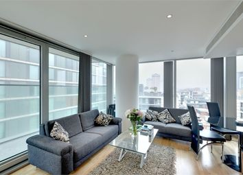 Thumbnail 2 bed flat for sale in The Landmark, West Tower, 22 Marsh Wall, London