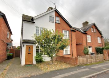 Thumbnail 4 bed semi-detached house for sale in Abbey Road, Chertsey, Surrey