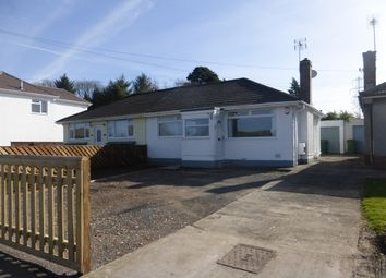 Thumbnail 3 bed semi-detached bungalow for sale in Heol Dowlais, Efail Isaf, Pontypridd