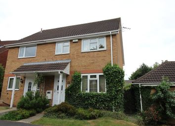 Thumbnail 3 bedroom semi-detached house for sale in Saffron Drive, Oakwood, Derby