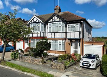 Thumbnail 3 bed semi-detached house for sale in Wynchgate, Southgate, London