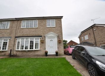 Thumbnail 3 bed semi-detached house for sale in Chiltern Crescent, Scunthorpe