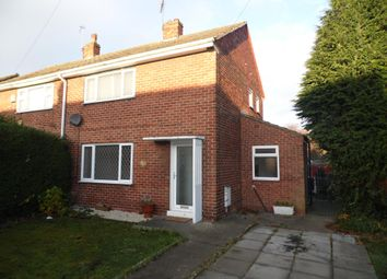 Thumbnail 2 bed semi-detached house to rent in Coronation Road, Stainforth, Doncaster