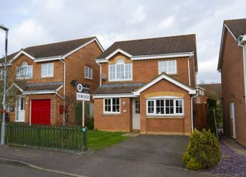 Thumbnail 3 bed detached house for sale in Brewin Close, Brackley