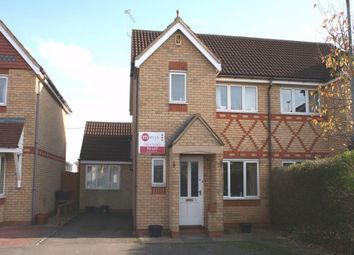 Thumbnail 3 bedroom semi-detached house to rent in Flinters Close, Wootton, Northampton