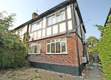 Thumbnail 2 bed flat for sale in Goring Way, Greenford