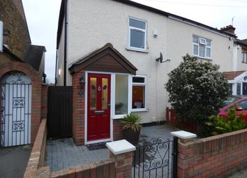 Thumbnail 2 bedroom semi-detached house for sale in Wennington Road, Rainham, Essex