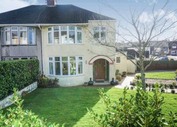 Thumbnail 3 bed semi-detached house for sale in Oaklands Rise, Bridgend