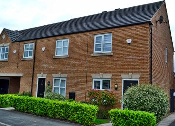 Thumbnail 2 bed mews house for sale in Mill Pool Way, Sandbach