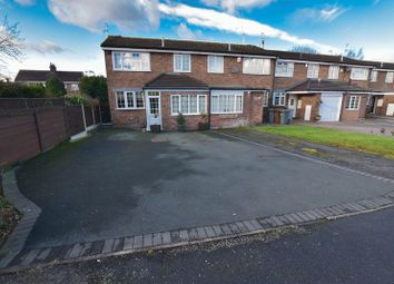 Thumbnail 3 bed end terrace house for sale in Essex Close, Congleton