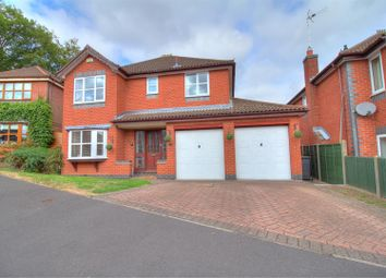 Thumbnail 5 bed detached house for sale in Pares Close, Whitwick, Coalville