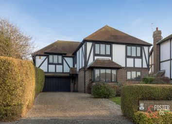 Thumbnail 4 bed detached house for sale in Dean Court Road, Rottingdean, Brighton