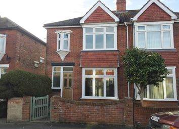 Thumbnail 3 bed semi-detached house to rent in Kensington Road, Gosport