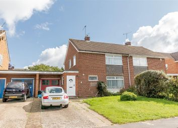 Thumbnail 3 bed semi-detached house for sale in Arnside Close, Twyford, Reading