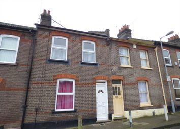 Thumbnail 3 bed terraced house to rent in Ashton Road, Luton
