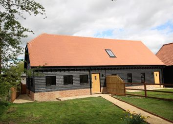 Thumbnail 2 bedroom barn conversion for sale in Ashfield Road, Elmswell, Bury St Edmunds, Suffolk