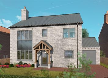 Thumbnail 4 bed detached house for sale in Church Farm, South Kelsey, Market Rasen