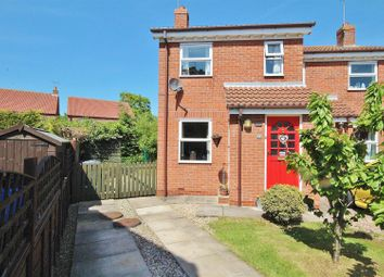 Thumbnail 2 bedroom semi-detached house for sale in Oak Road, North Duffield, Selby