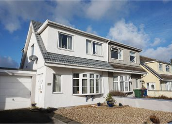 Thumbnail 3 bed semi-detached house for sale in Ffordd Pendyffryn, Valley