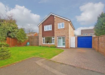 Thumbnail 4 bed detached house for sale in Croft Close, Redditch