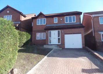 Thumbnail 4 bed detached house to rent in South Hill Road, Gateshead