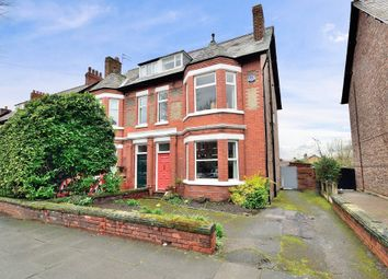 Thumbnail 5 bedroom semi-detached house for sale in Grappenhall Road, Stockton Heath, Warrington