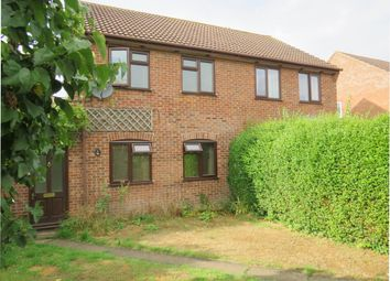 Thumbnail 3 bed semi-detached house for sale in Ferguson Way, Attleborough