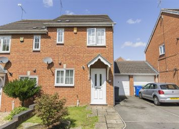 Thumbnail 2 bed semi-detached house for sale in Oadby Drive, Hasland, Chesterfield