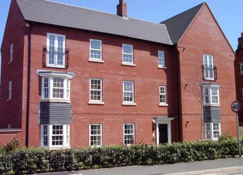 Thumbnail 2 bed flat to rent in Barkby Road, Syston