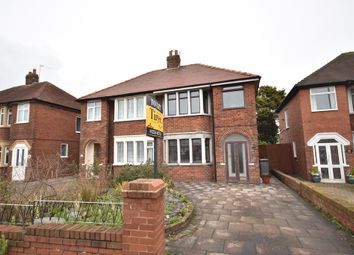 Thumbnail 3 bed semi-detached house to rent in Bispham Road, Blackpool