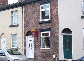 Thumbnail 2 bed terraced house to rent in Coare Street, Macclesfield, Cheshire