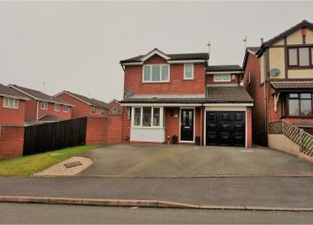 Thumbnail 3 bed detached house for sale in Smallwood Close, Newcastle