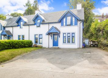 Thumbnail 4 bed semi-detached house for sale in Morven Gardens, Glenmore Road, Oban, Argyll
