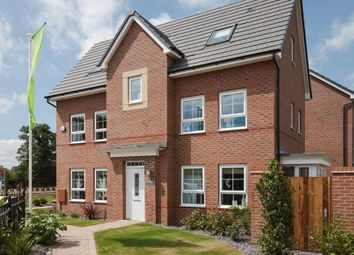 "Thumbnail 4 bed detached house for sale in ""Hexham"" at Weddington Road, Nuneaton"