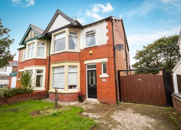 Thumbnail 3 bed semi-detached house for sale in Sawley Avenue, Blackpool