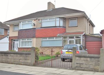 Thumbnail 3 bed semi-detached house for sale in Bradfield Avenue, Liverpool
