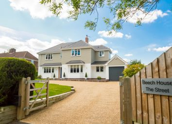 Thumbnail 4 bed detached house for sale in The Street, Stradishall, Newmarket, Suffolk