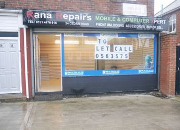Thumbnail Commercial property to let in Cedar Road, Fenham, Newcastle Upon Tyne