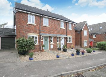 Thumbnail 3 bed semi-detached house for sale in Chaplains Walk, Chartham, Canterbury