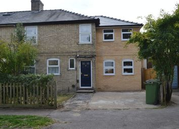 Thumbnail 1 bedroom semi-detached house to rent in Oak Tree Avenue, Cambridge