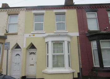 Thumbnail Terraced house to rent in Rossett Street, Liverpool