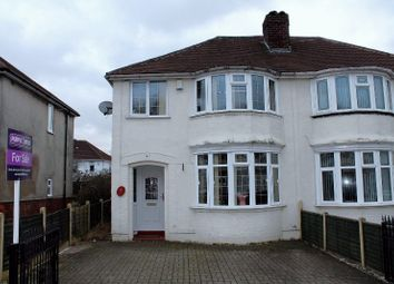 Thumbnail 3 bedroom semi-detached house for sale in Alma Avenue, Tipton