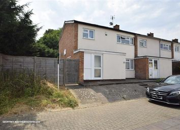 Thumbnail 3 bed end terrace house for sale in Hookfield, Harlow, Essex