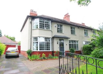 Thumbnail 4 bedroom semi-detached house for sale in Menlove Avenue, Calderstones, Liverpool