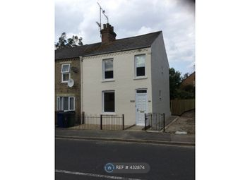 Thumbnail 3 bedroom end terrace house to rent in Railway Road, Wisbech